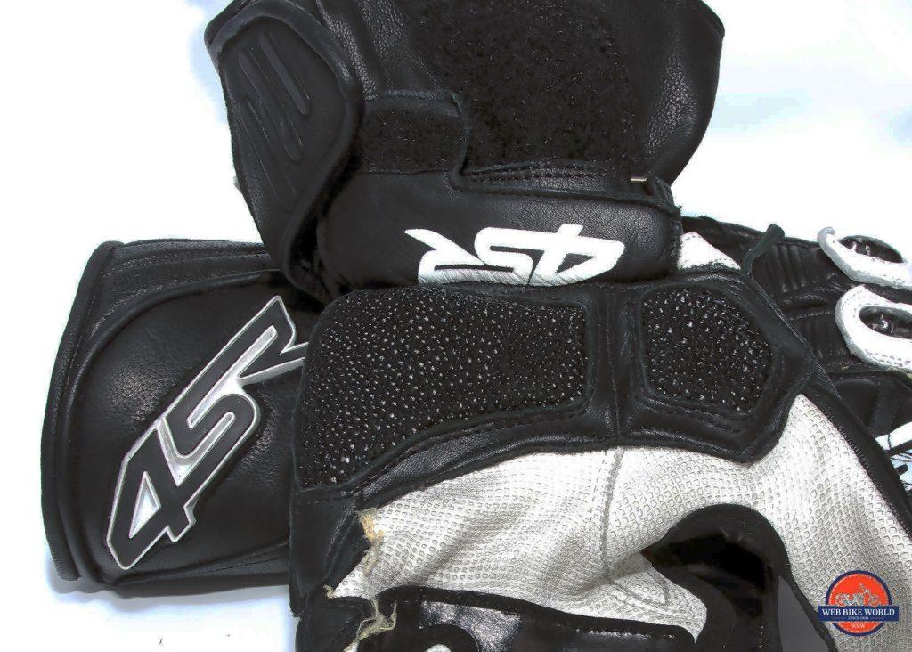 4SR 96 Stingray gloves ray skin palm.
