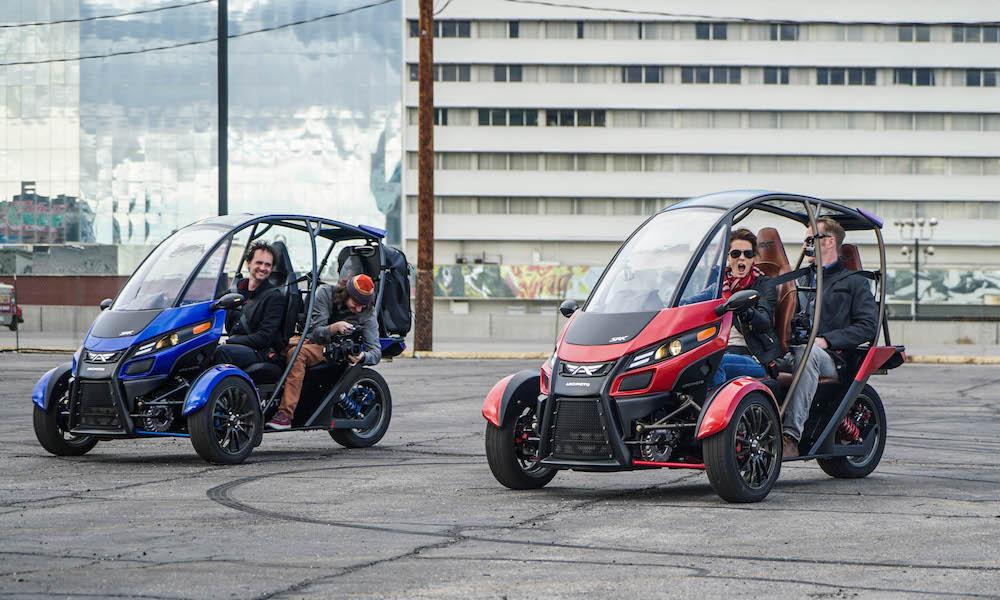 Arcimoto FUV Trike