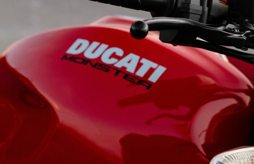 Ducati Monster gas tank