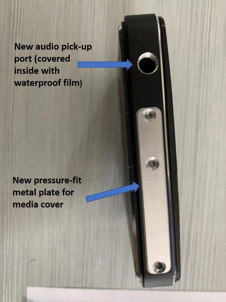 INNOV K2 pressure-fit thumb-screw secured plate