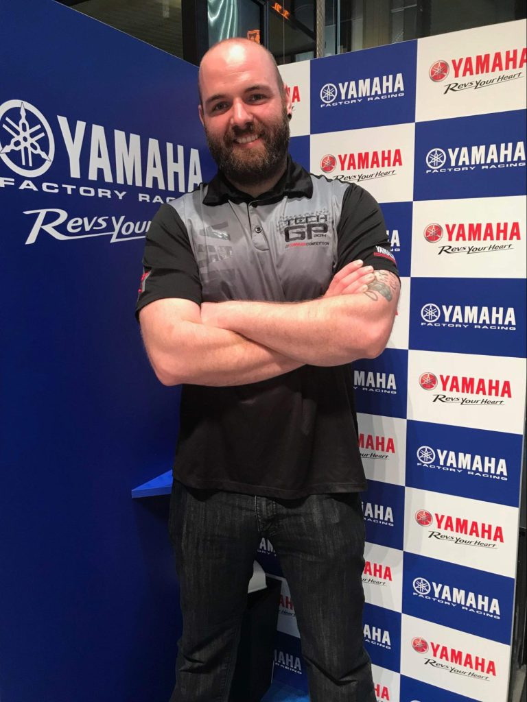 Brett Hart, Canada's Champion at the Yamaha World Technician Grand Prix