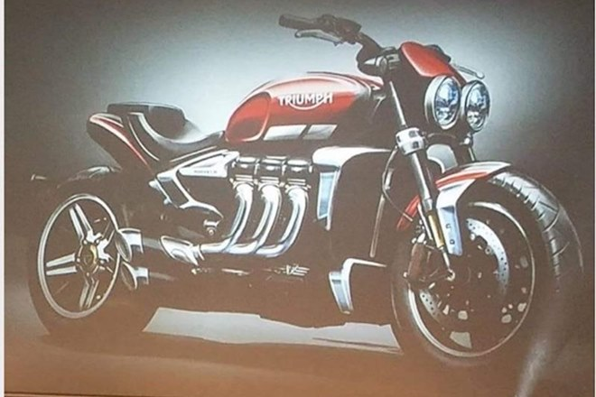 2019 Triumph Rocket III sketch