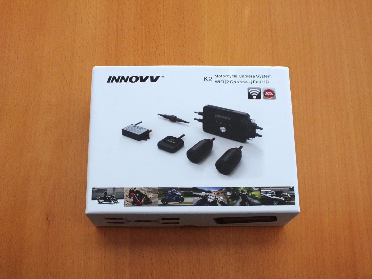 INNOV K2 Motorcycle Camera Retail Box