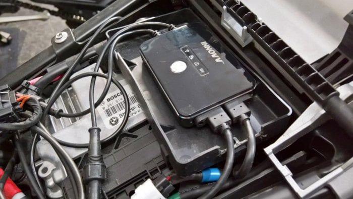 Custom DVR installation for the K2 on the R1200GS