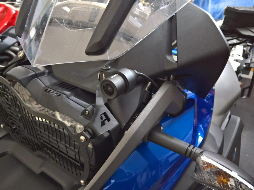 INNOV K Front Installation on the R1200GS