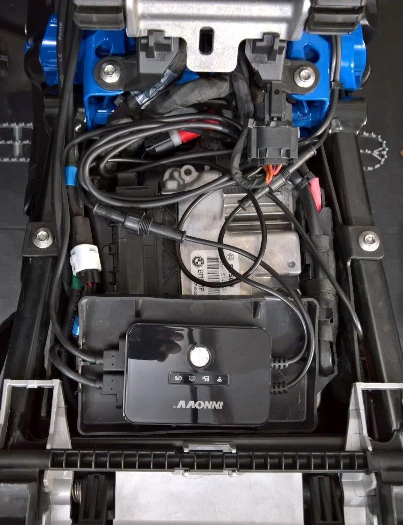 INNOV K2 Installation on the R1200GS
