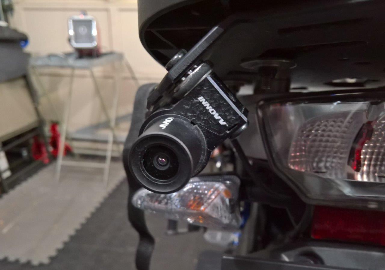 INNOV K Rear Installation on the R1200GS