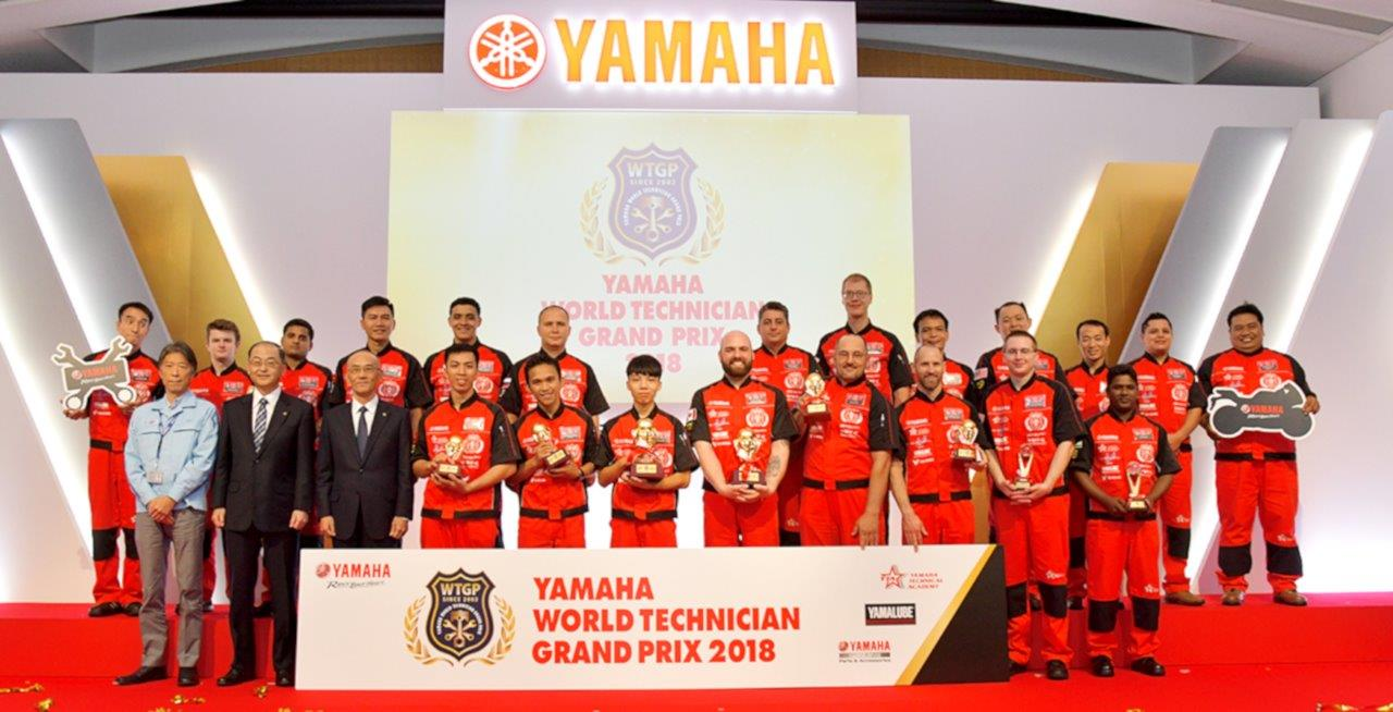 Yamaha World Technician Grand Prix 2018
