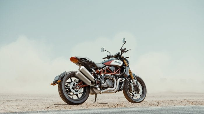 2019 Indian FTR 1200 S with Akrapovič Exhaust