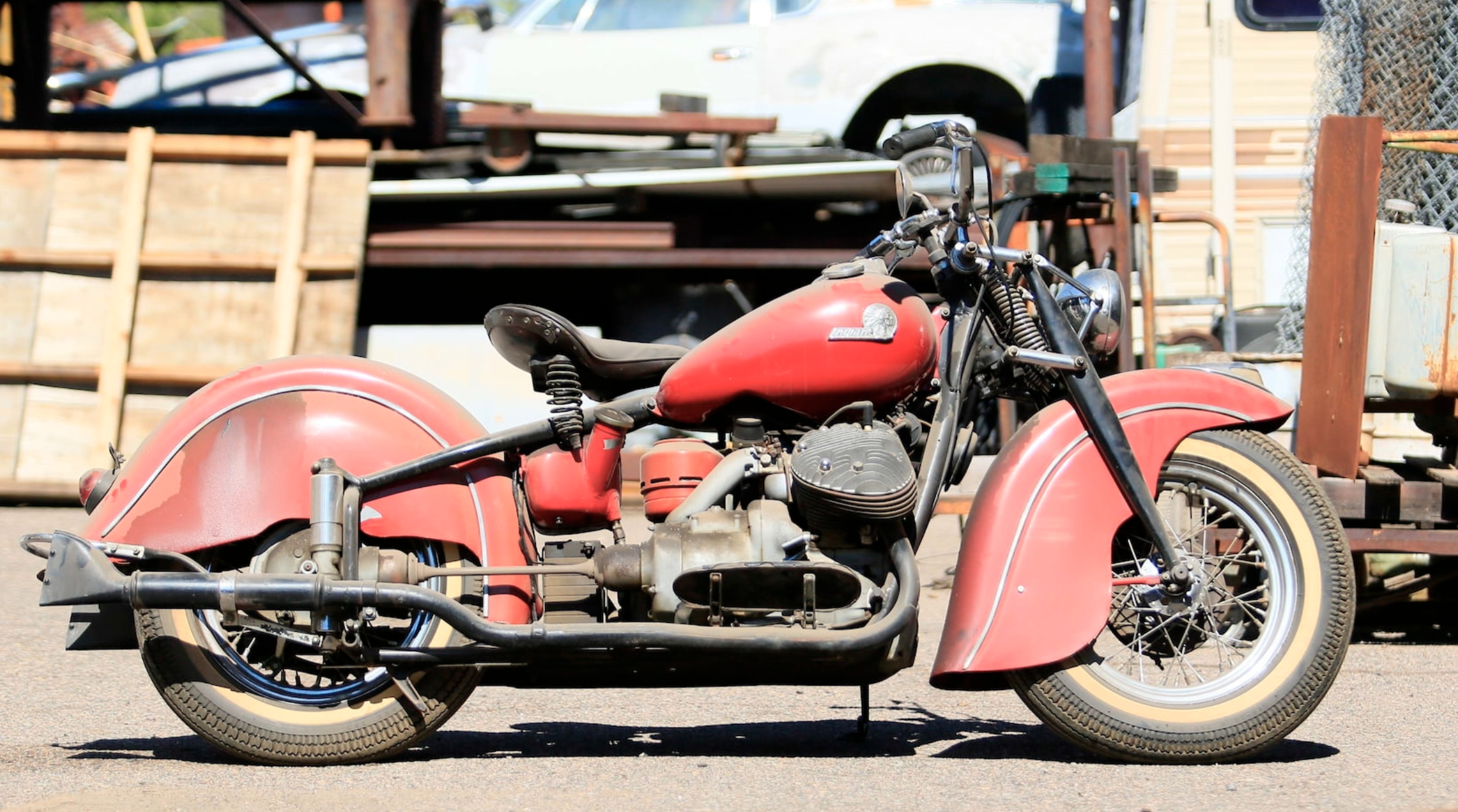 Indian Motorcycle Mecum Auction
