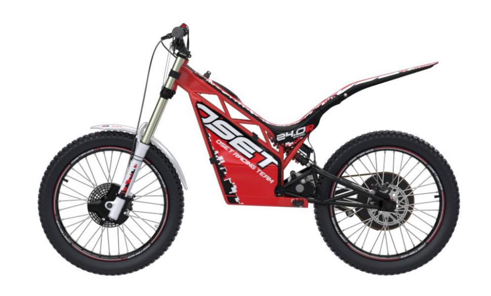 OSET 24.0R trials motorcycle