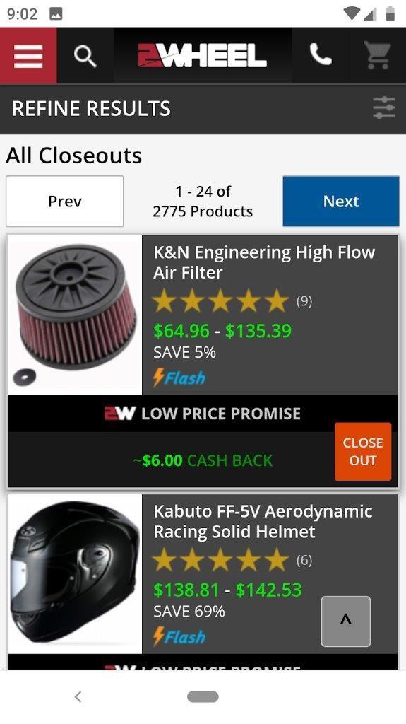 2Wheel.com responsive app design