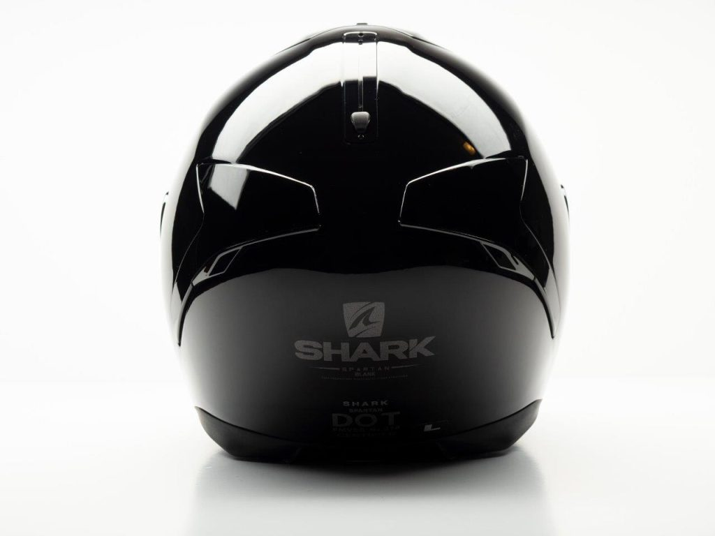 Shark Spartan Helmet rear view