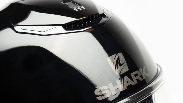 Shark Spartan Helmet top vents