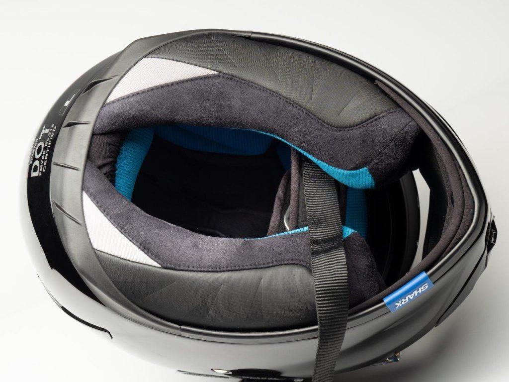 Shark Spartan Helmet interior
