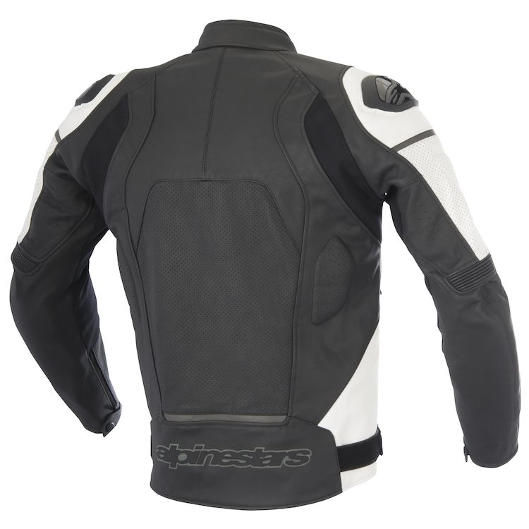 Alpinestars Core leather jacket with reflective logo