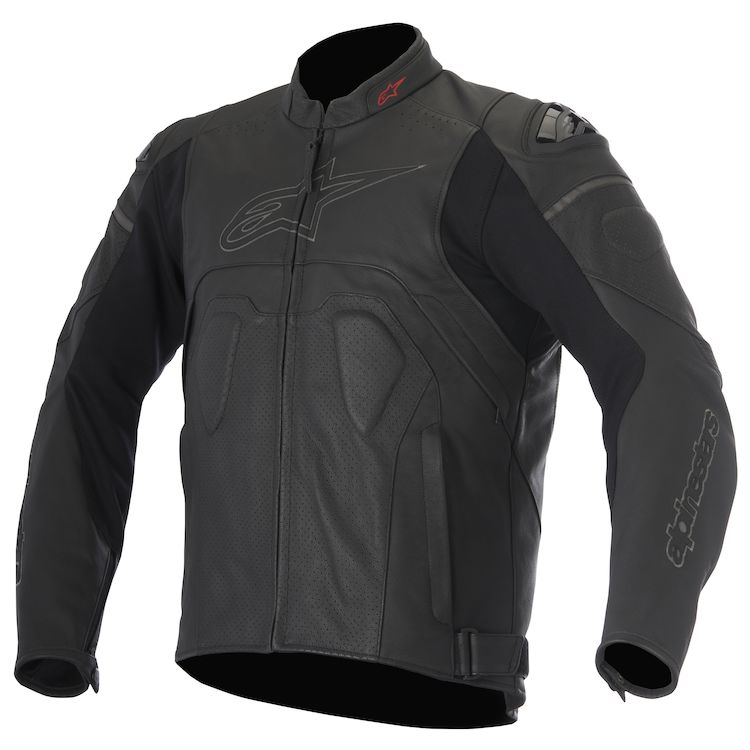 Alpinestars Core Leather Jacket in all black