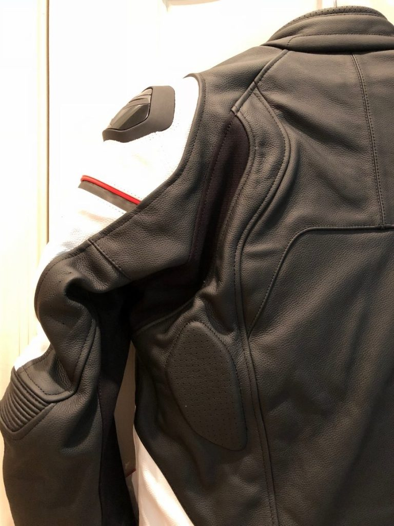 Alpinestars Core Leather Jacket shoulder protection