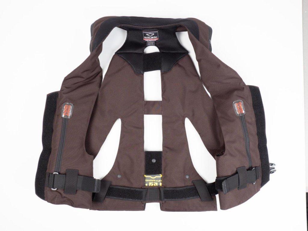 Hit-Air MLV-C Motorcycle Airbag Vest Unbuckled