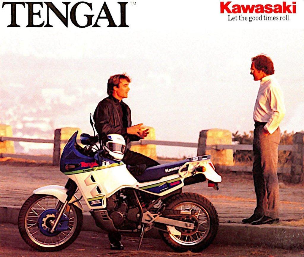 Original Kawasaki KLR650-B Tengai Brochure