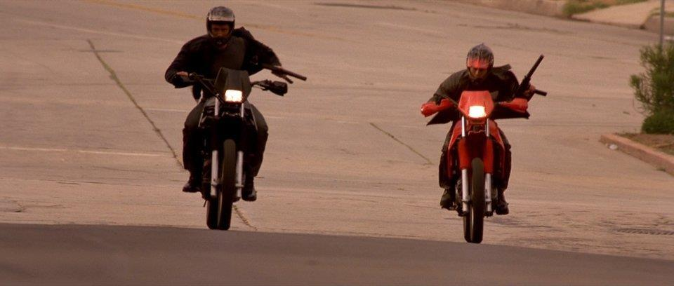 Kawasaki KLR650 in the movie The Fast and the Furious