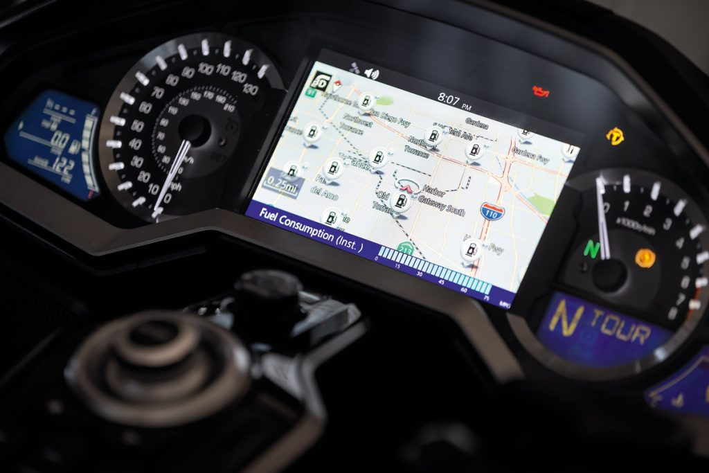 Honda Completes Second Scheduled Gold Wing Navigation Update