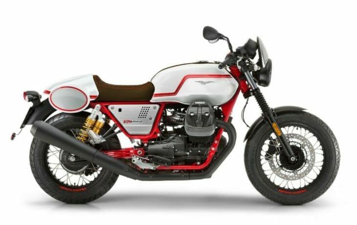 Moto Guzzi V7 III Racer Limited Edition