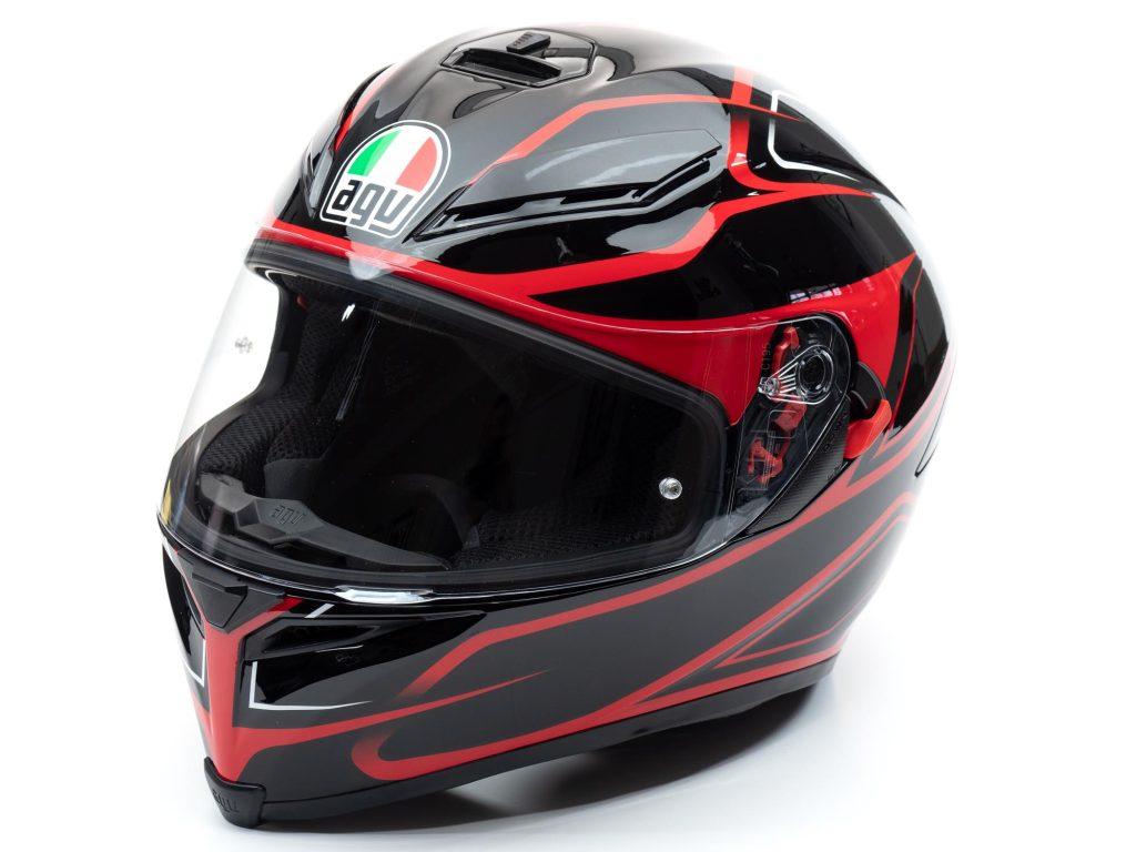 AGV K5s Helmet full off-axis view