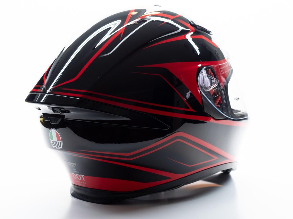 AGV K5s Helmet rear view