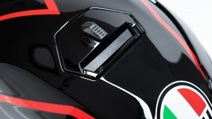 AGV K5s Helmet top-side vents