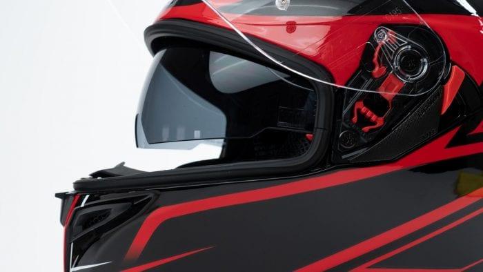 AGV K5s Helmet visor system