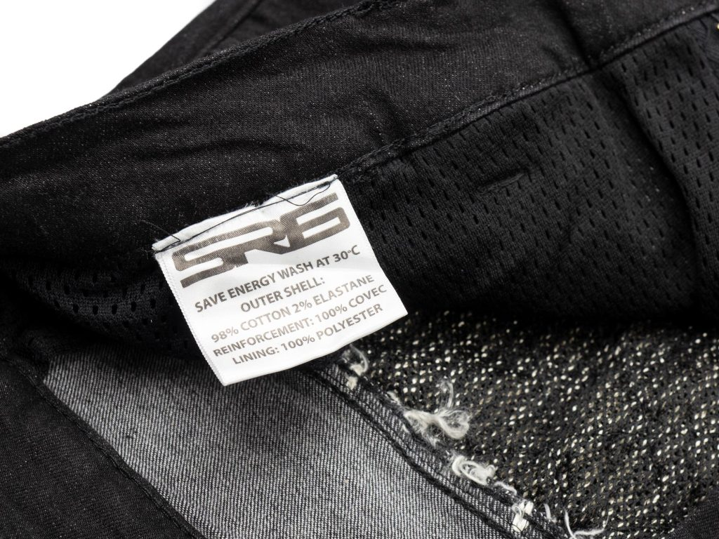 Bull-it SP120 Lite Heritage Slim Fit Jeans inner fabric tag