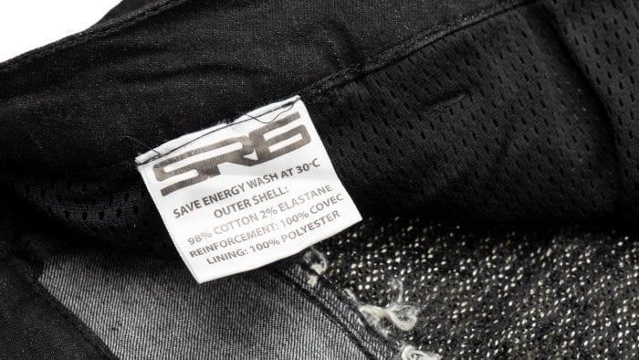 Bull-it SP120 Lite Heritage Slim Fit Jeans inner fabric tag