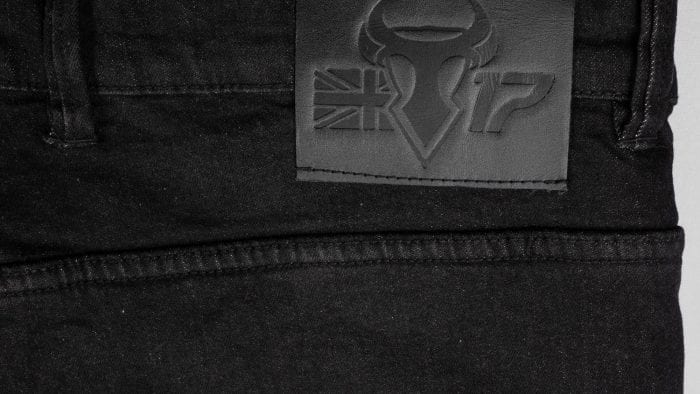 Bull-it Logo on back of SP120 Lite Heritage Slim Fit Jeans