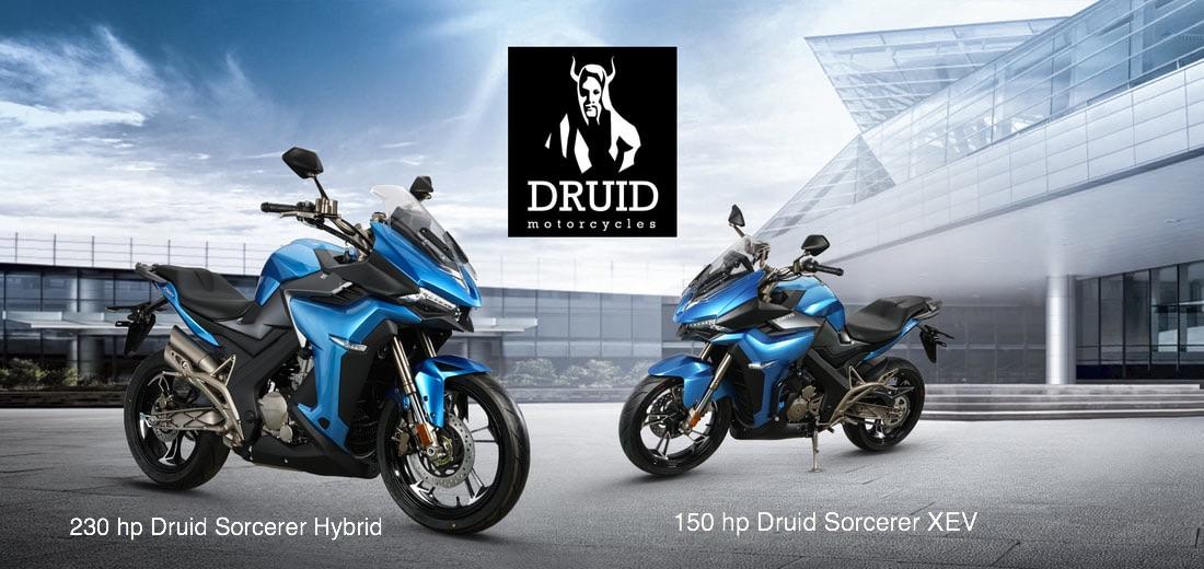 Druid Motorcycles sorcerer