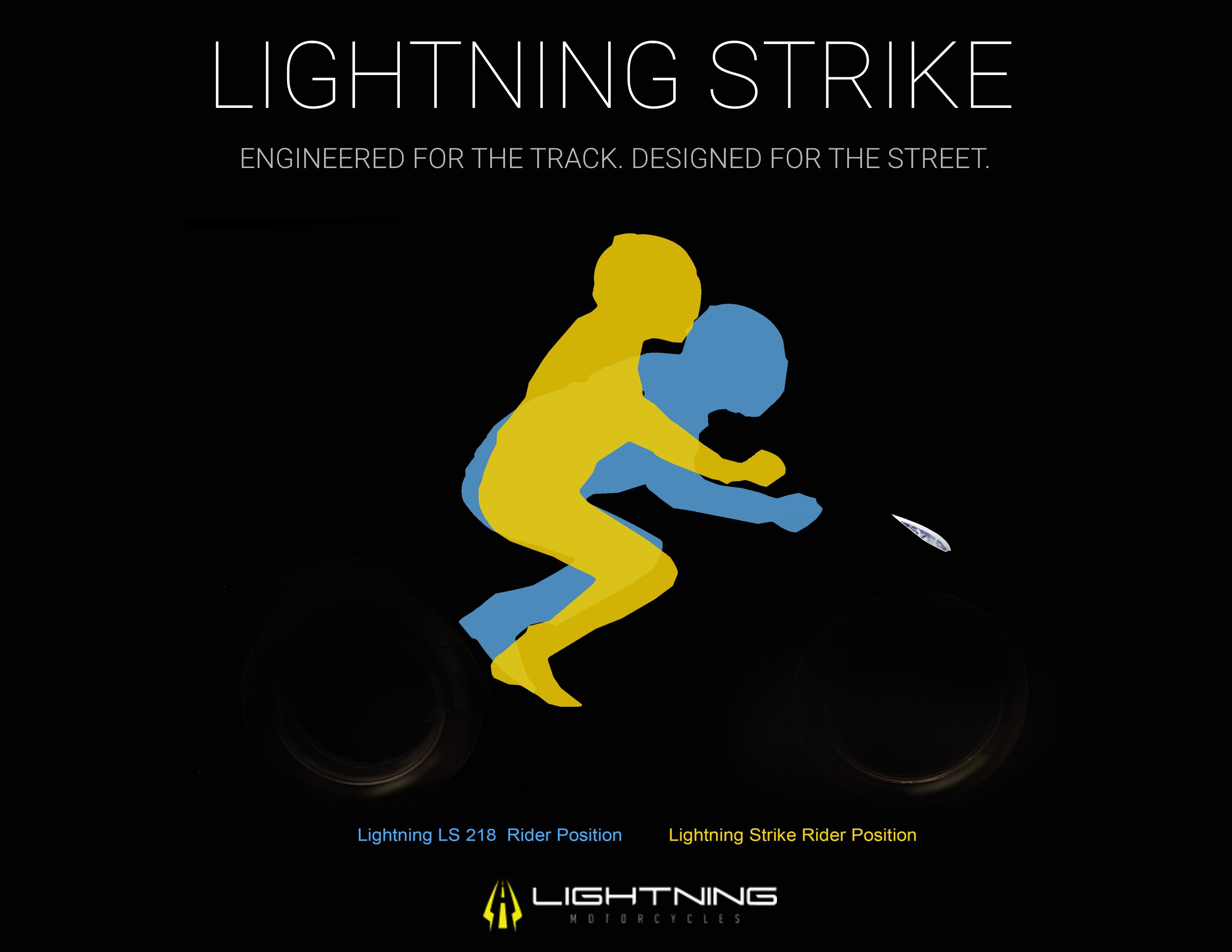 Lightning Motorcycles Strike riding position