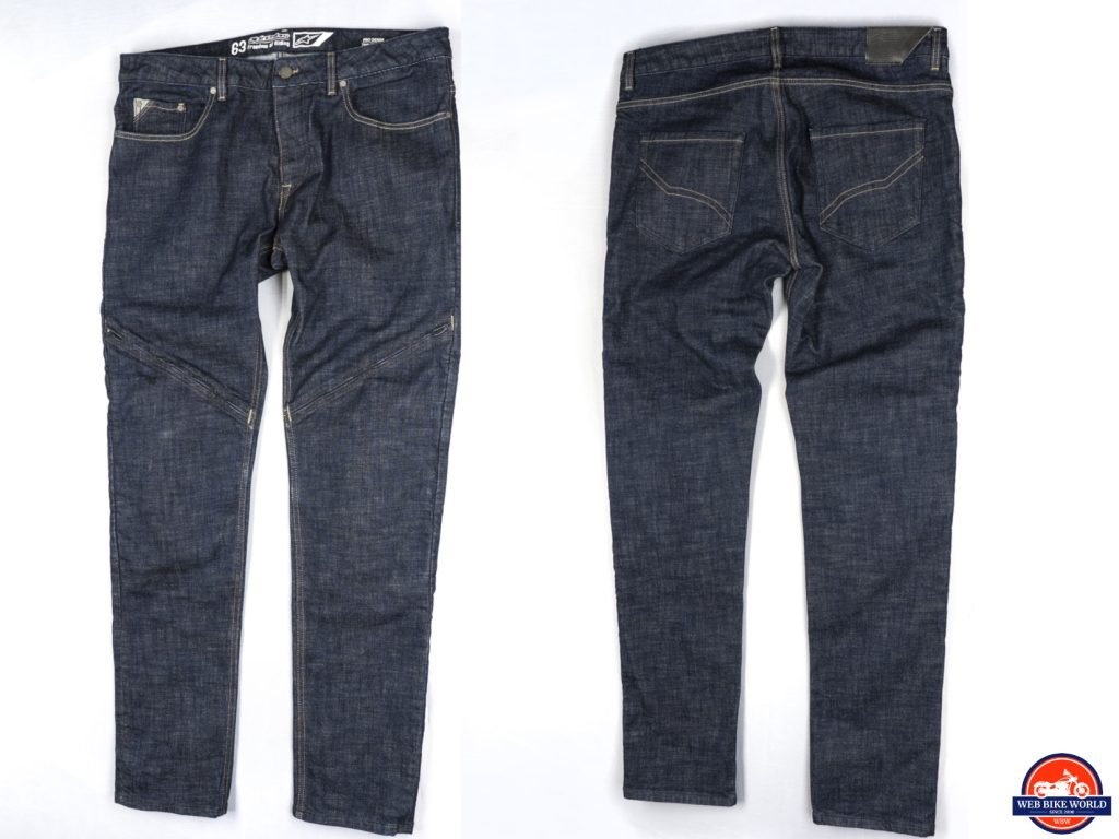Alpinestars Copper Out Denim Pants front and back