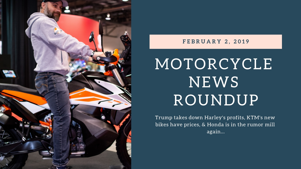Motorcycle News Roundup - Feb 2, 2019