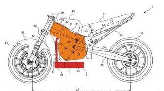 Suzuki engine patent