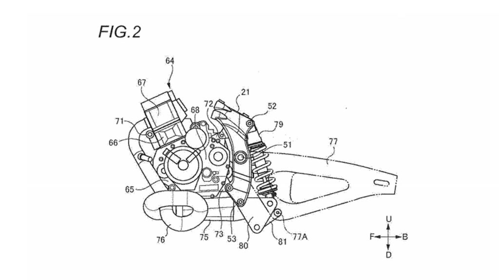 Suzuki Cafe Racer Patent