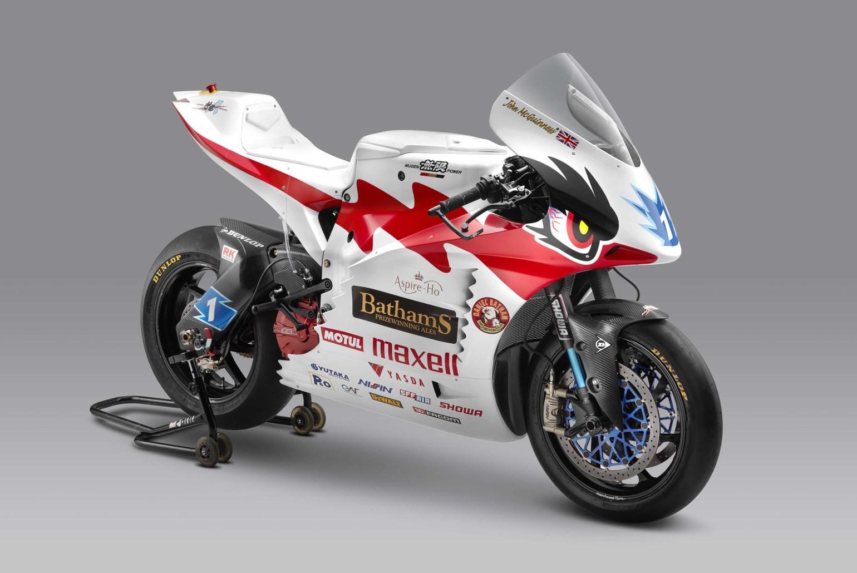 Mugen Shinden Hachi electric superbike