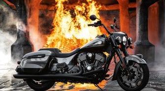 Jack Daniel's Limited Edition Indian Springfield Dark Horse