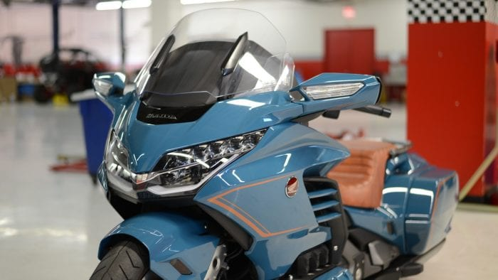 Honda Unveils Custom Gold Wing at Bike Week called the Cool Wing