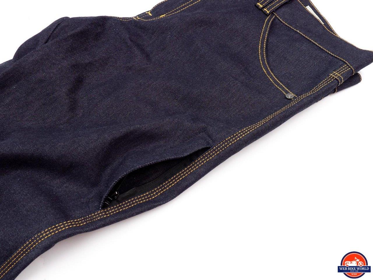 Trilobite Go-Up Jeans pockets