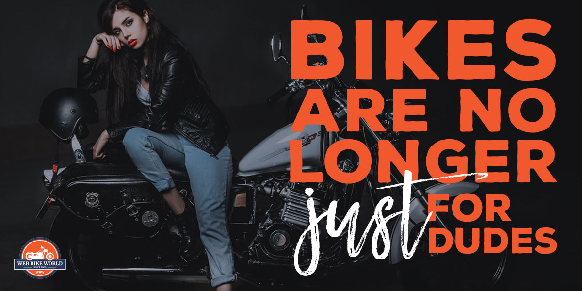 Bikes Are No Longer Just For Dudes