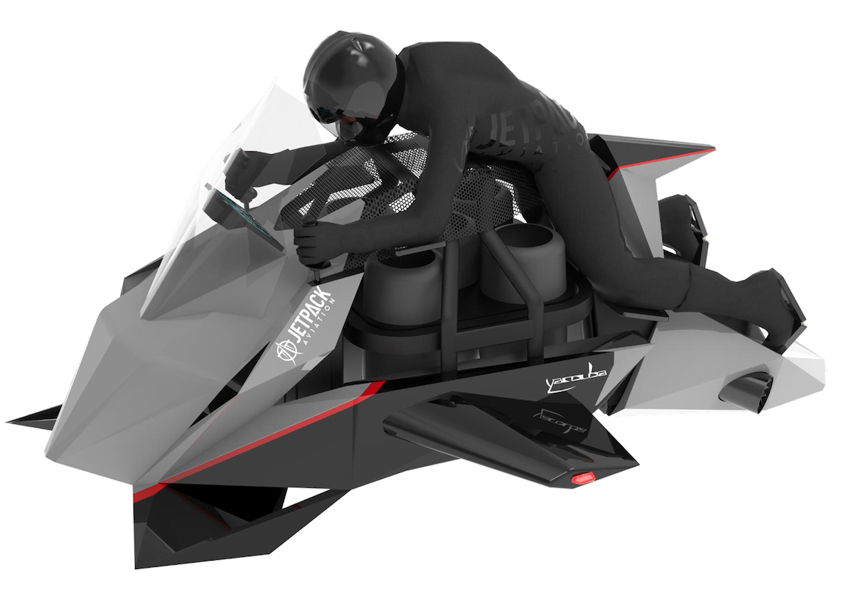 JetPack Aviation The Speeder