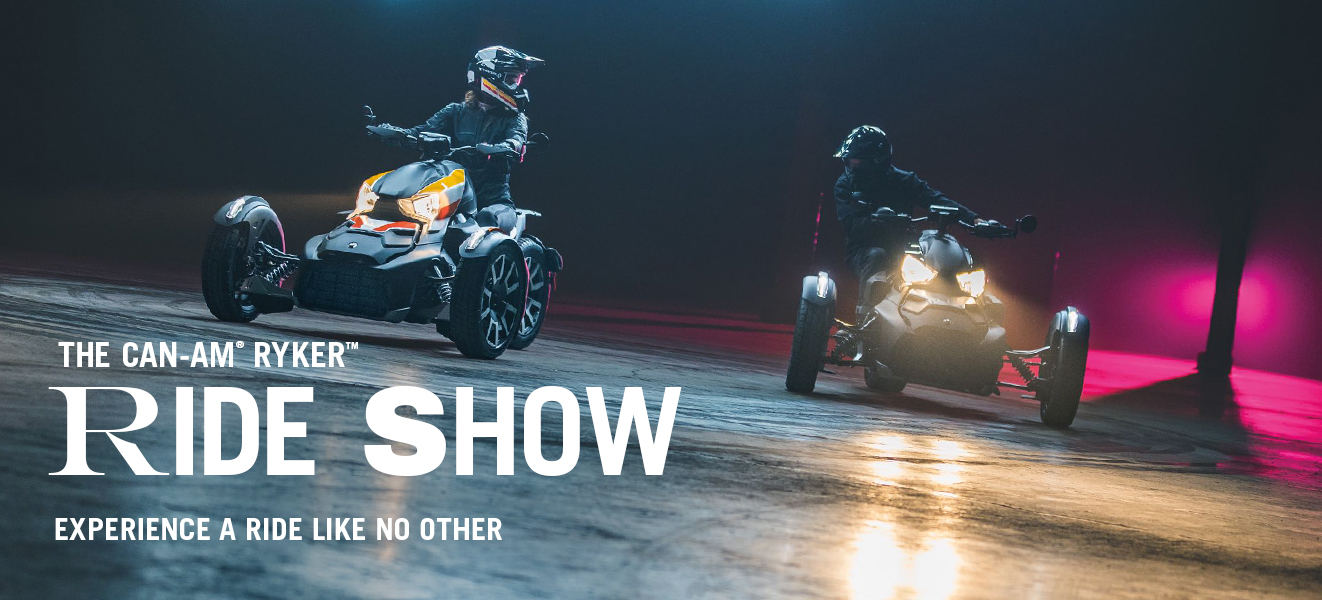 Can-Am Ryker Ride Show