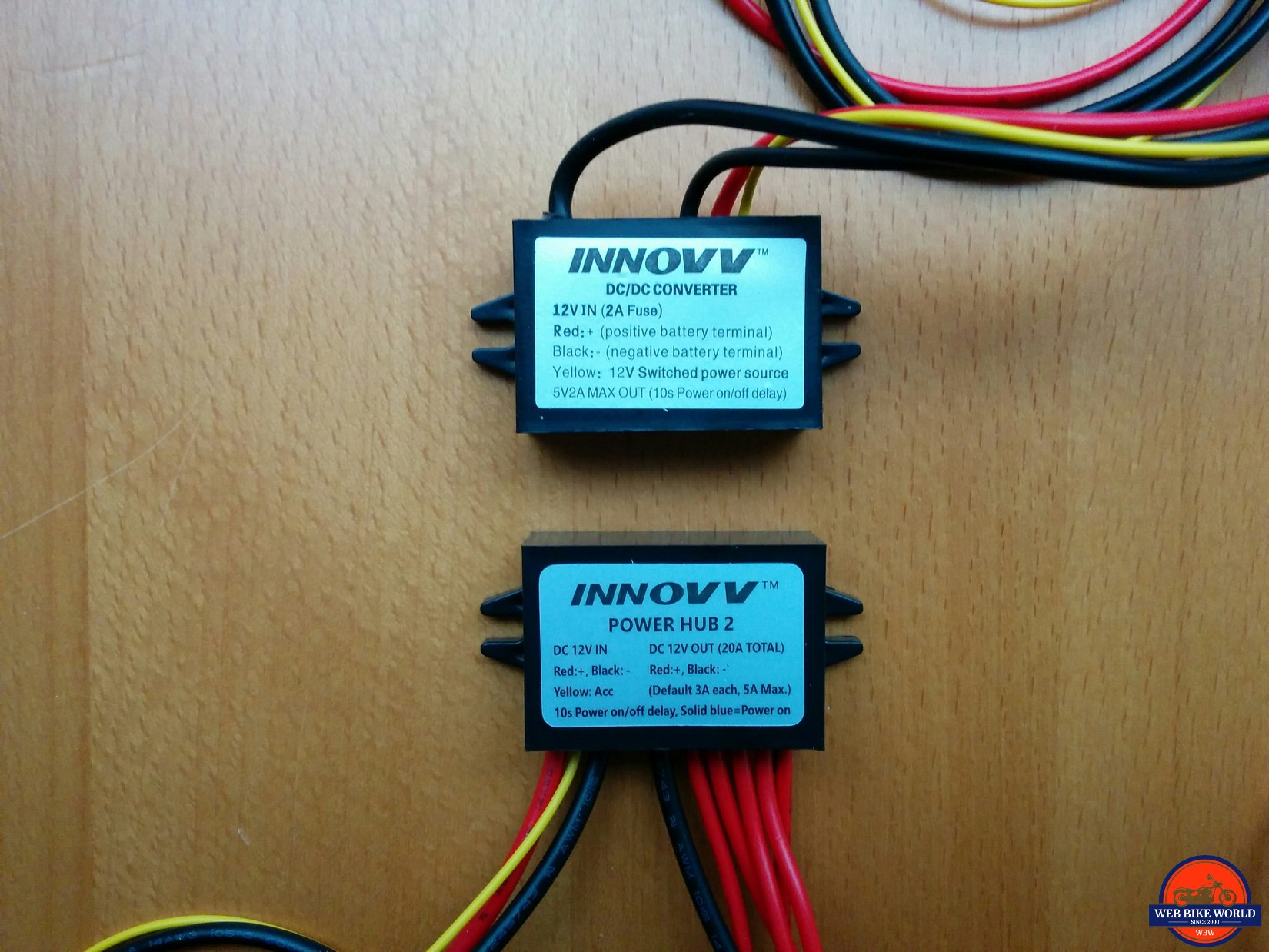 NNOVV Power Hub 2 and K2 Power Supply