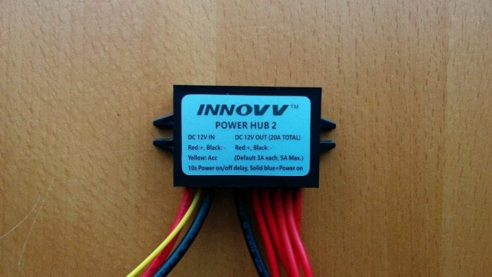 NNOVV Power Hub 2 Full View with Label