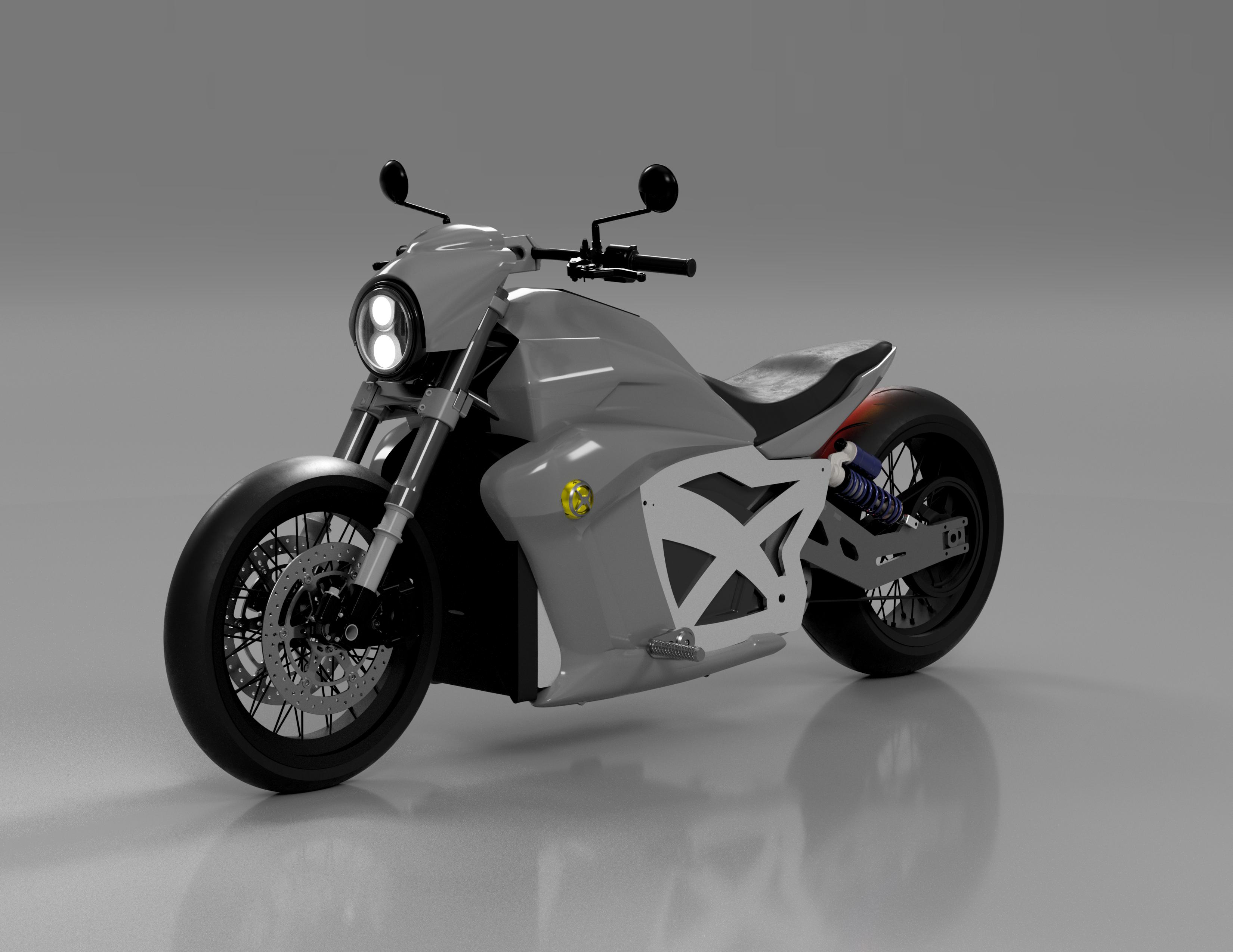 Evoke Motorcycles 6061